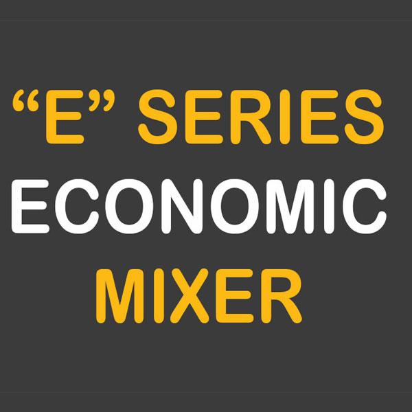 """Mezcladores en espiral de la serie económica """"E"""""""